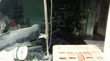 Se incendió un nuevo taller clandestino en Flores