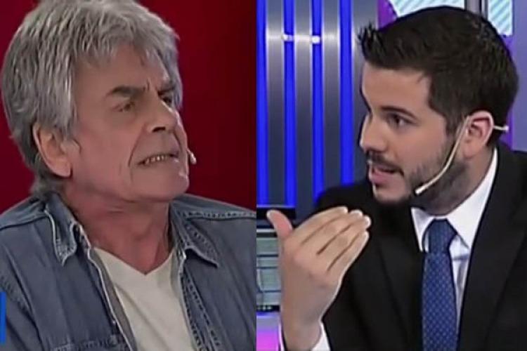 Raúl Rizzo explotó contra Macri y Magaldi lo echó del programa