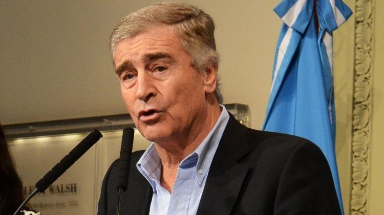 Oscar Aguad, ministro de Comunicaciones