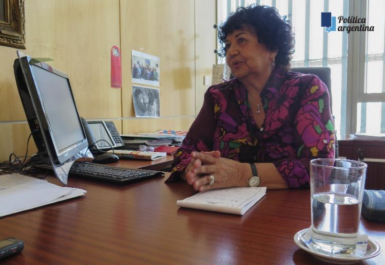 """Dora Barrancos: """"En situaciones de crisis económica hay consecuencias violentas para las mujeres en el ámbito doméstico"""""""