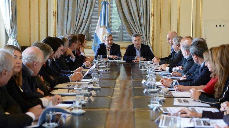 Resultado de imagen para argentina acuerdo gobierno gobernadores