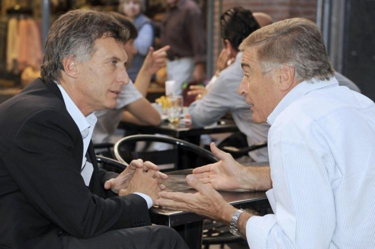 Macri y Aguad.