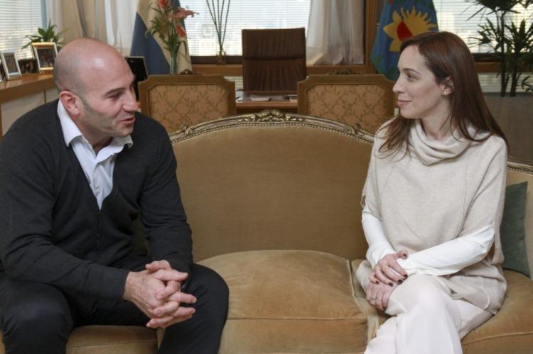 Martiniano Molina (Quilmes) y María Eugenia Vidal