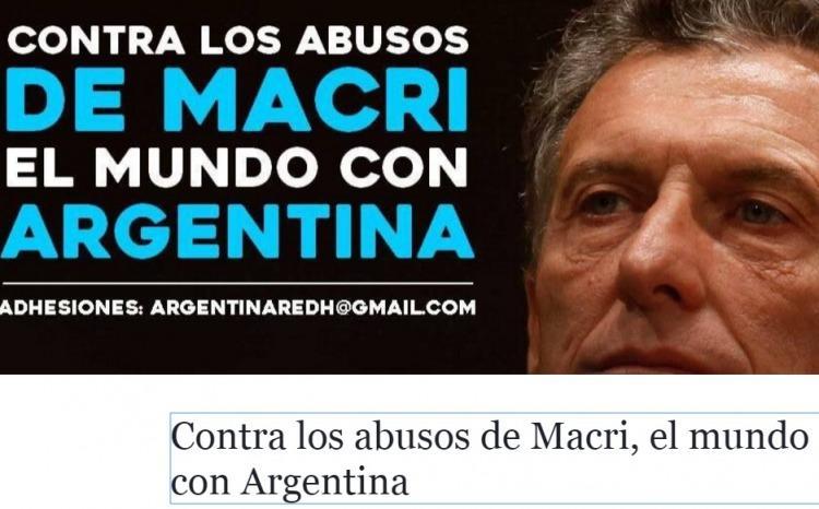 Chomsky se une a campaña internacional contra 'abusos' de Macri