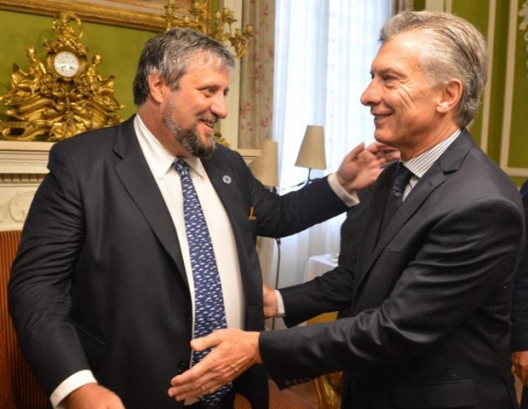 Miguel De Godoy y Mauricio Macri