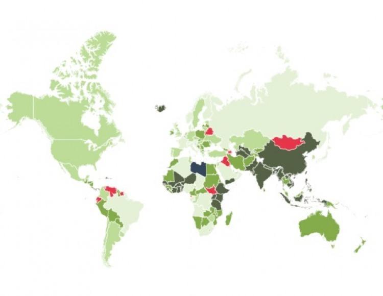 Mapa elaborado por El País