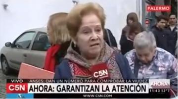"""El reclamo de una jubilada que votó a Macri: """"Estamos peor que antes"""""""