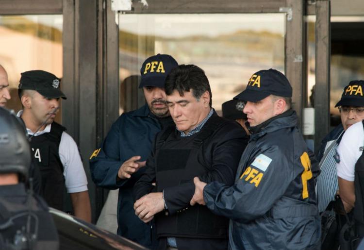 Zannini le mandó una carta desde la cárcel a Cristina Kirchner