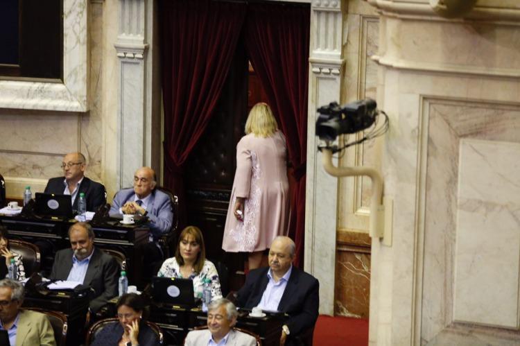 Fuerte cruce entre Agustín Rossi y Elisa Carrió — Reforma previsional