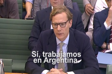 "CEO de Cambridge Analytica: ""Trabajamos en Argentina"""