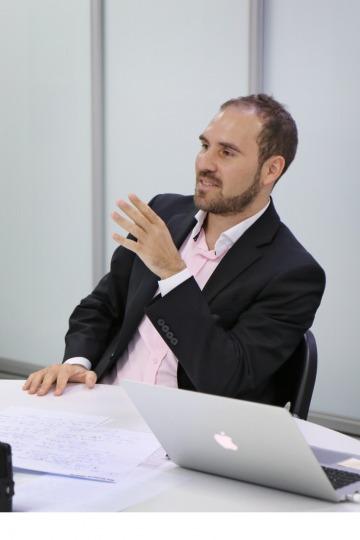 """Guzmán: """"En los mercados financieros internacionales ya no se cree que Argentina transitará un sendero virtuoso bajo el esquema original de Macri"""""""