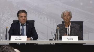 """Lagarde: """"La meta de inflación debe ser alcanzada, los objetivos son alcanzables"""""""