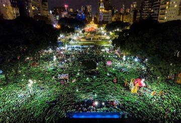 La revolución de los pañuelos verdes en América Latina