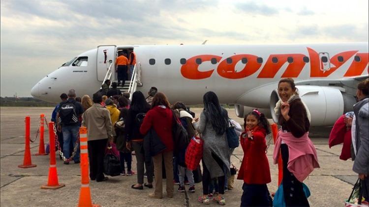 Ya llegaron los 93 venezolanos repatriados desde Ecuador (+Fotos)