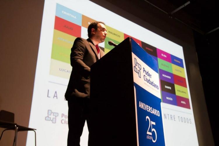 Pablo Secchi, director ejecutivo de Poder Ciudadano
