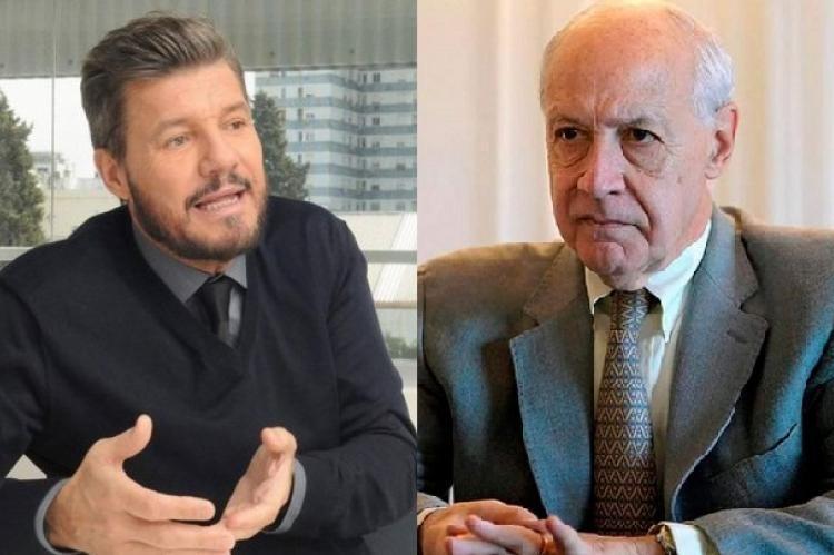 Marcelo Tinelli lentamente se mete en campaña