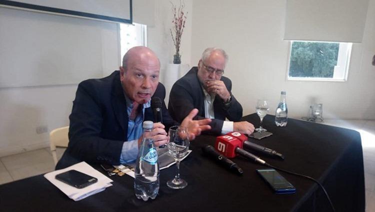 Los abogados del intendente Varsco, Rubén Pagliotto y Miguel Cullen