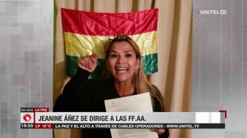 Los amenazantes mensajes que la presidenta del golpe en Bolivia le mandó a Alberto y también a Macri