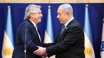 Alberto Fernández desmintió que haya hablado sobre  Nisman y AMIA en Israel