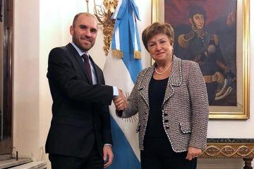 Guzmán y Georgieva protagonizan un nuevo encuentro juntos tras el apoyo del FMI