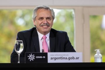 """Alberto anunció obras públicas para el sur y advirtió la necesidad de construir un capitalismo """"más noble"""""""