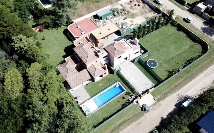 El hogar que Sbarra se montó en Navarro