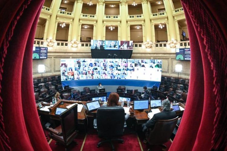 El Senado le dio media sanción a la Reforma Judicial con cambios en la  cláusula para evitar presiones mediáticas - Poltica Argentina
