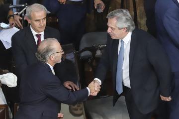 """Fuerte crítica de Fernández a Rosenkrantz por su """"ahínco"""" en tratar los casos de los jueces que Macri puso a dedo"""