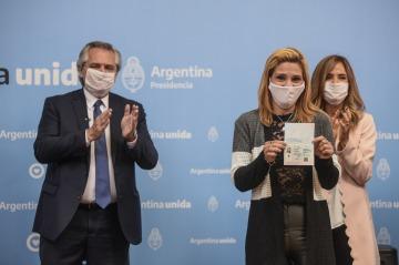 """Alberto: """"En Argentina muchos necesitan conocer su identidad, que la tienen, pero el resto del país los desconoce"""""""