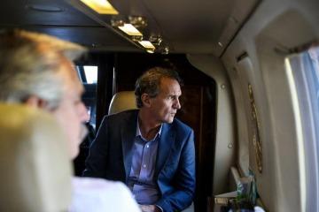 """""""Es muy claro que hay dos líderes en la Argentina: Alberto Fernández y otro que encabeza la oposición, que es Macri"""""""