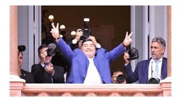 Murió Diego: el Gobierno decretó tres días de duelo nacional y Alberto suspendió su agenda hasta el viernes