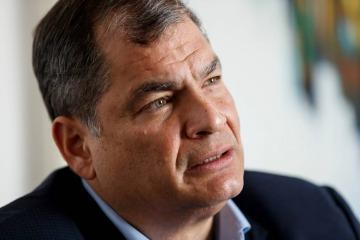 ¿Qué dijo Correa después del triunfo de Guillermo Lasso?