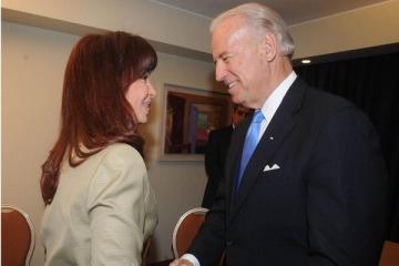 Con un nuevo mensaje al FMI, Cristina destacó el discurso de Joe Biden