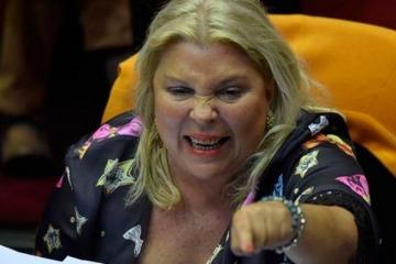 """Carrió advirtió que los legisladores que aprueben la Emergencia Covid """"estarán incurriendo en el delito de traidores a la Patria"""""""