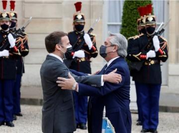 """""""Francia está de su lado"""": Alberto consiguió el apoyo de Emmanuel Macron con el FMI y el Club de París"""