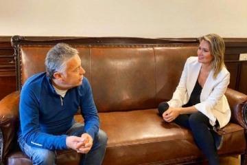 Carolina Losada se reunió con Alfredo Cornejo y avanza su incorporación en Juntos por el Cambio