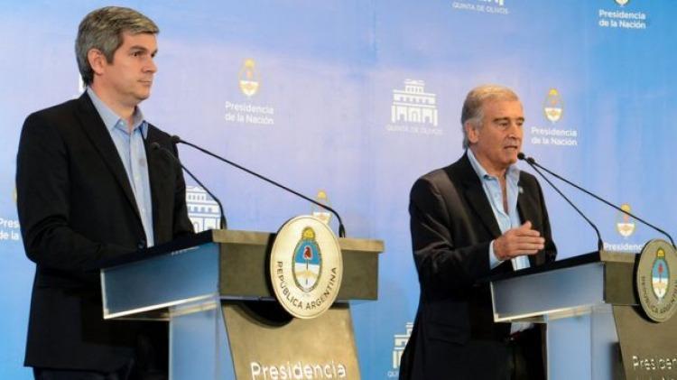 """Peña y Aguad, dos que hicieron mucho desde el Gobierno de Cambiemos por la """"famiglia"""" Macri"""