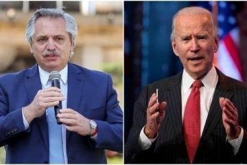 "Joe Biden agradeció a Alberto Fernández por su ""contribución frente a la crisis climática"""