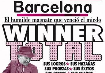 La tapa de Revista Barcelona tras el triunfo de Macri