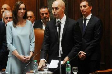 Juró Horacio Rodríguez Larreta como jefe de Gobierno porteño