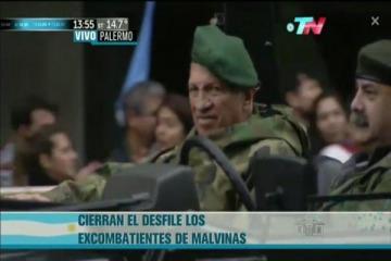 Polémica por la presencia de Aldo Rico en el desfile militar