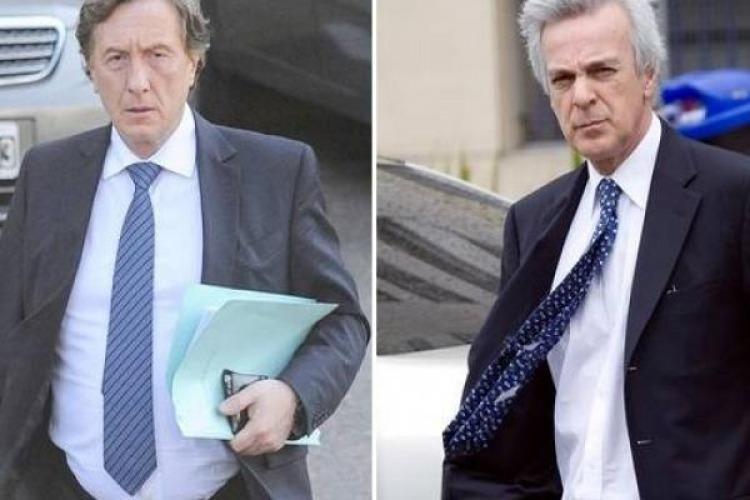 Jueces Eduardo Farah y Martín Irurzun.
