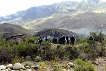 Más represión, balas de plomo y dos heridos graves en la comunidad mapuche de Chubut