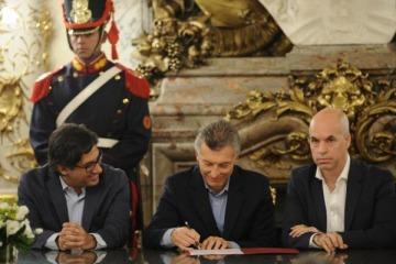 El Gobierno firmó el traspaso de la Justicia a la Ciudad