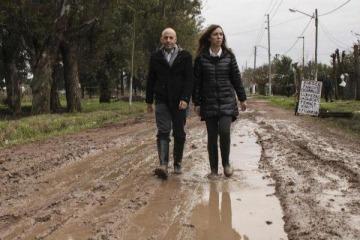 """El día que en campaña Vidal dijo que en las inundaciones hay que """"estar después"""" porque """"la gente se siente sola"""""""