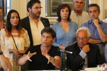 El FPV-PJ denunciará a Gómez Centurión por apología del delito