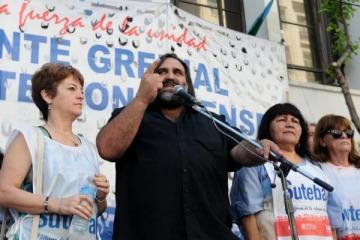 Amenazaron de muerte a Baradel en medio del conflicto salarial con los docentes