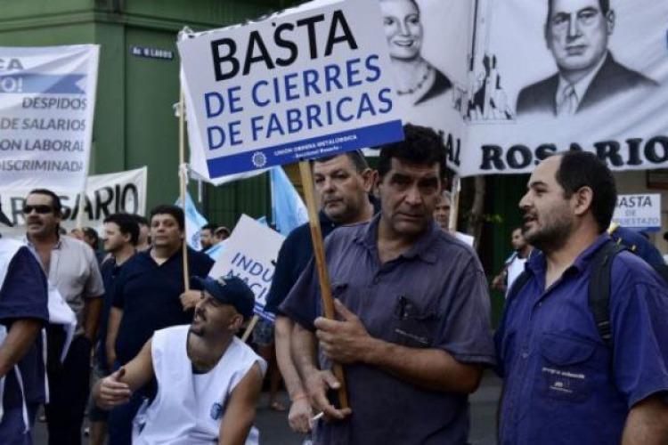 Resultado de imagen para argentina cierre de fabricas