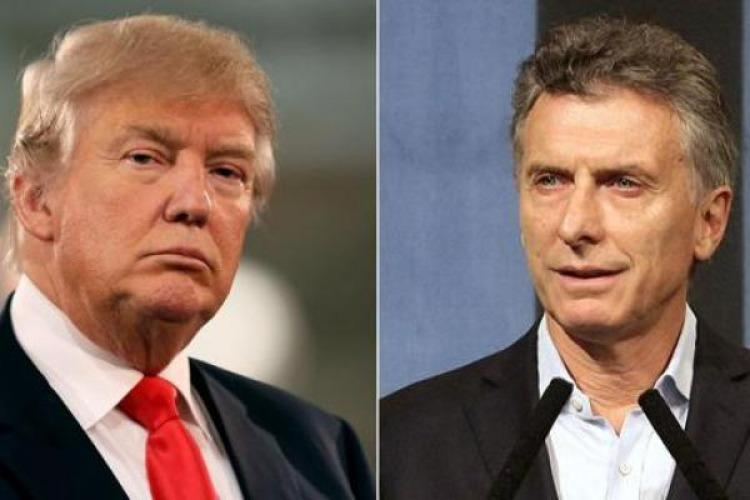 Trump llamó a Mauricio Macri y lo invitó a Washington