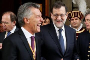 """En plena ola de desempleo, Rajoy opinó que """"los pronósticos para la economía argentina son mejores"""""""